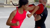 Cours semi-privés de self défense féminine méthode Amazon training