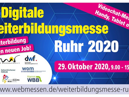Digitale Weiterbildungsmesse Ruhr