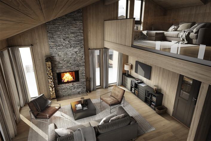 Sollia Norefjell leilighet med hems