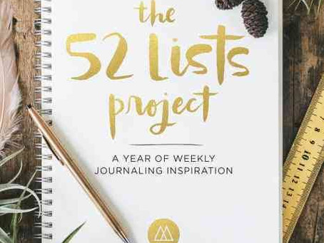Book: The 52 Lists Project