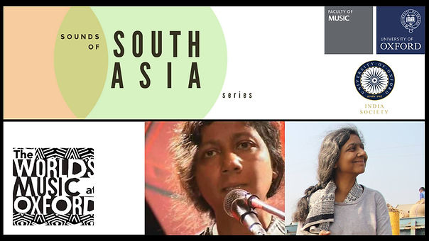 Sounds of South Asia Series - Moushumi B