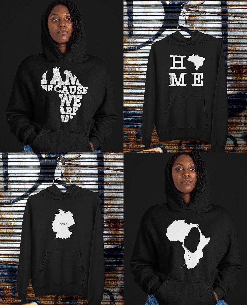 Africa Caribbean World Hoodies Gifts