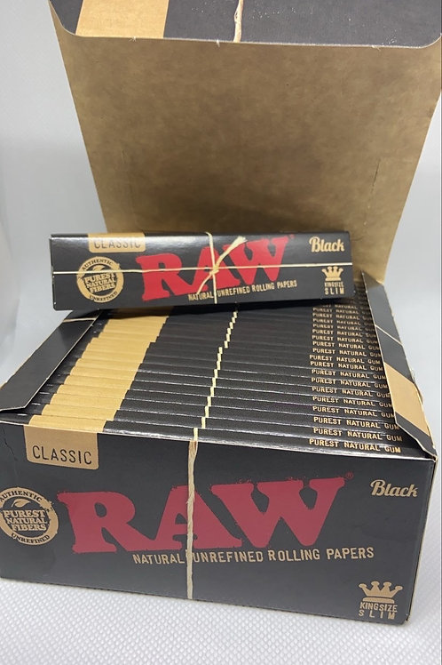 Raw Black Label Slims