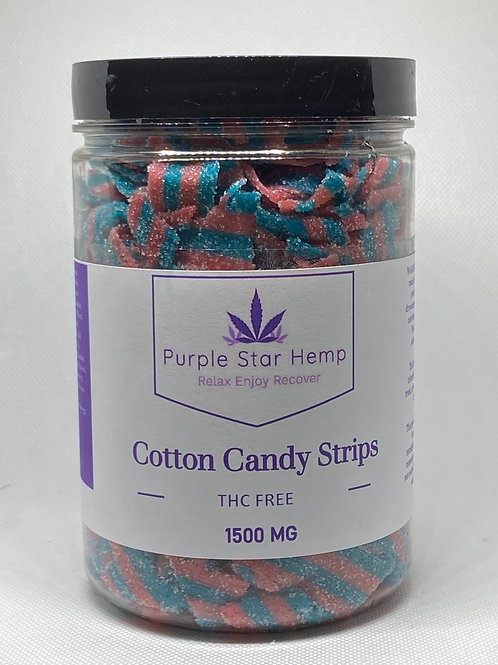 Cotton Candy Strips THC Free
