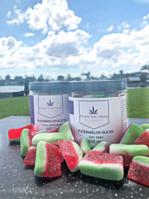 Watermelon Slices THC Free