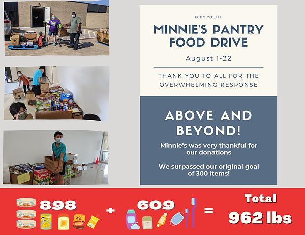 FCBC Minnie's Food drive Final.png