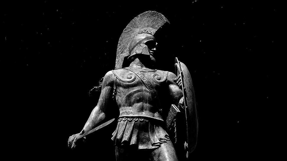 videoblocks-statue-of-spartan-warrior-wi