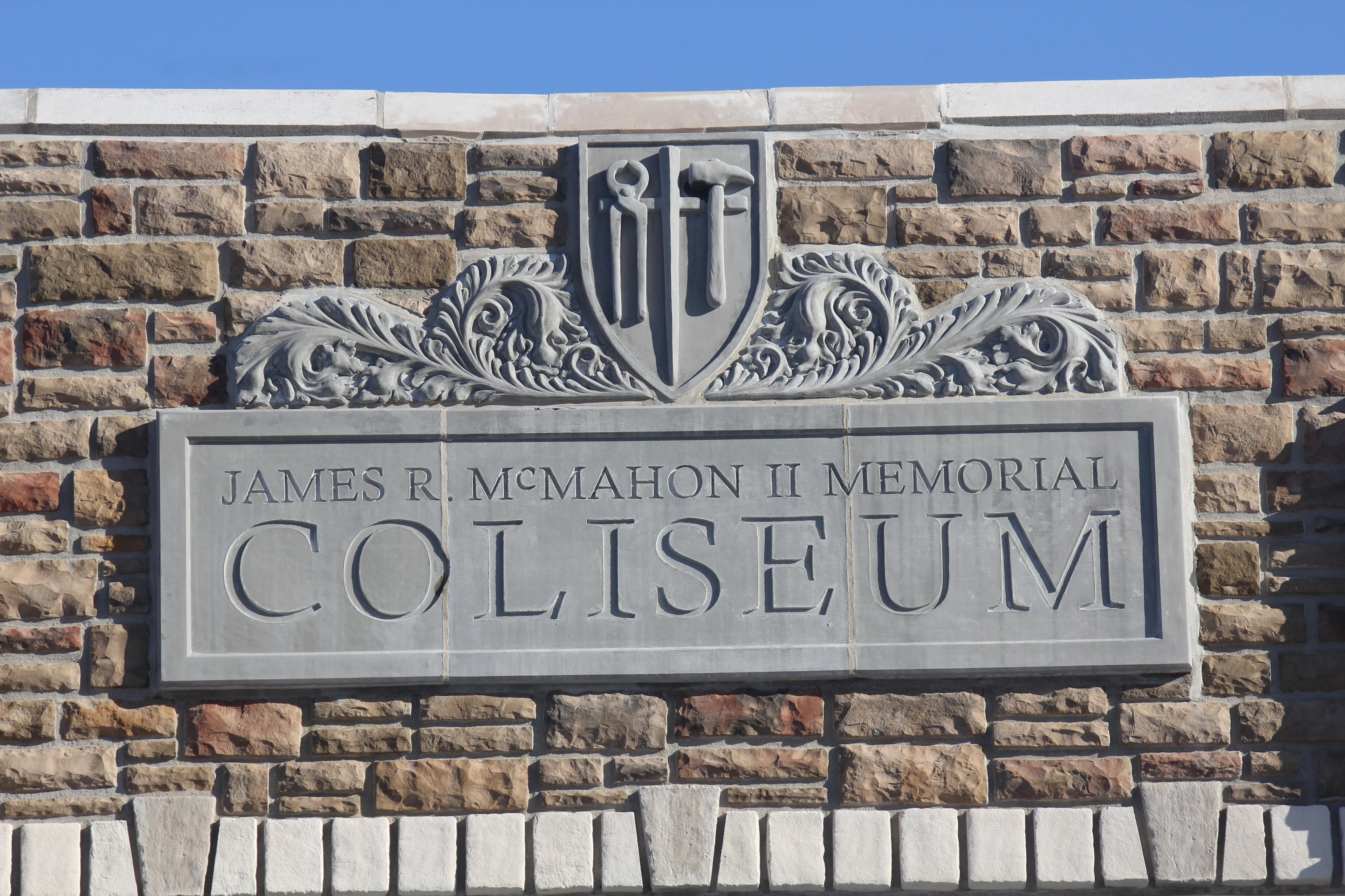 Coliseum Front Entrance