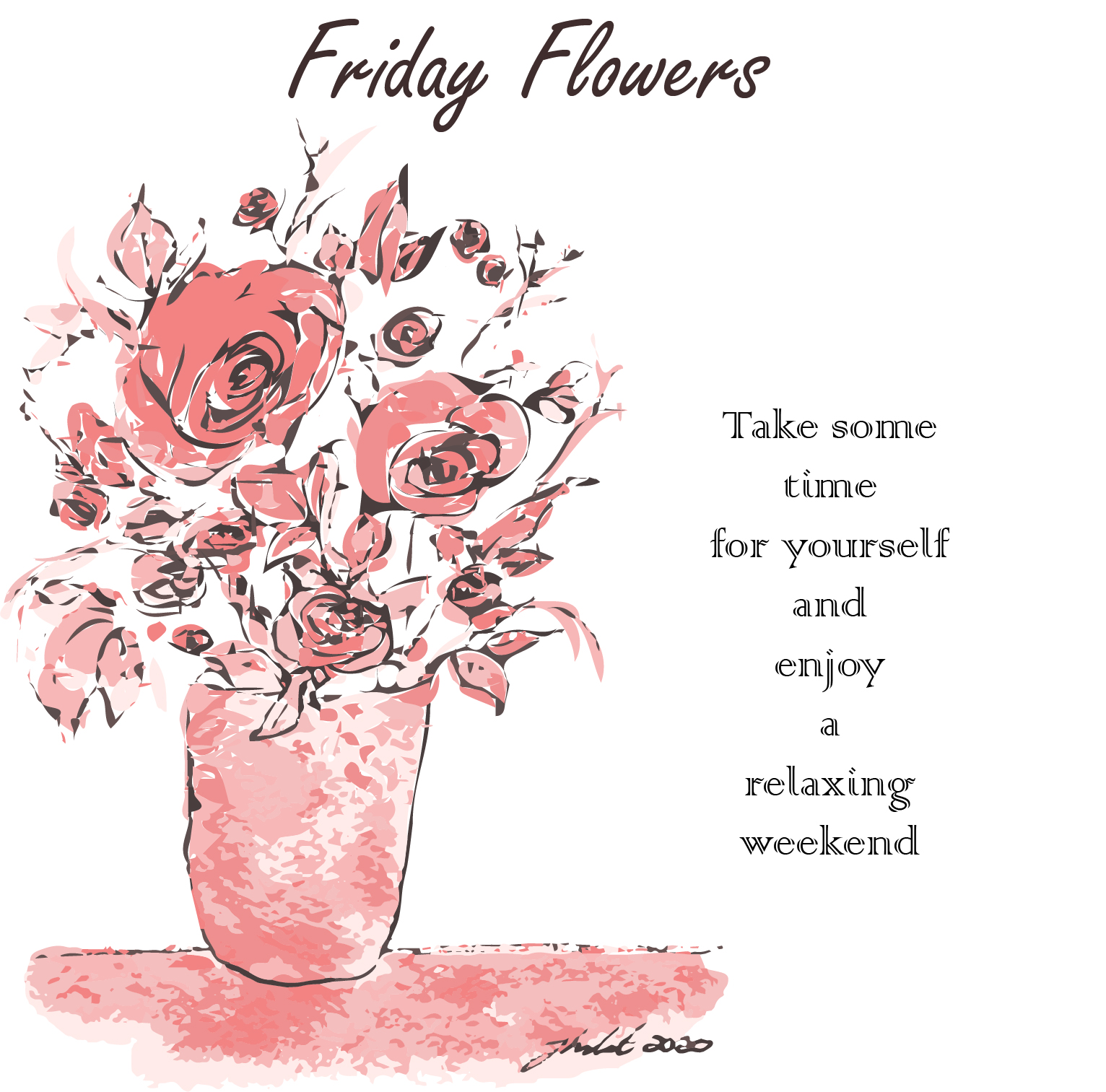 Friday Flowers & other surprises