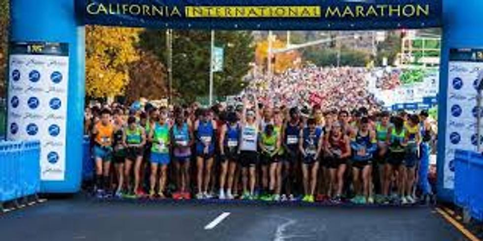 California International Marathon Bike Lead out