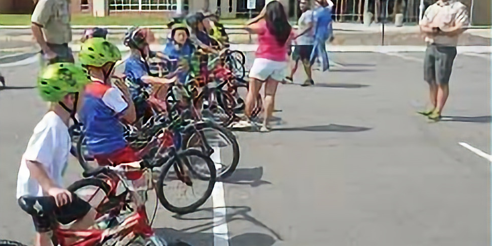 Cub Scouts Bicycle Safety Event