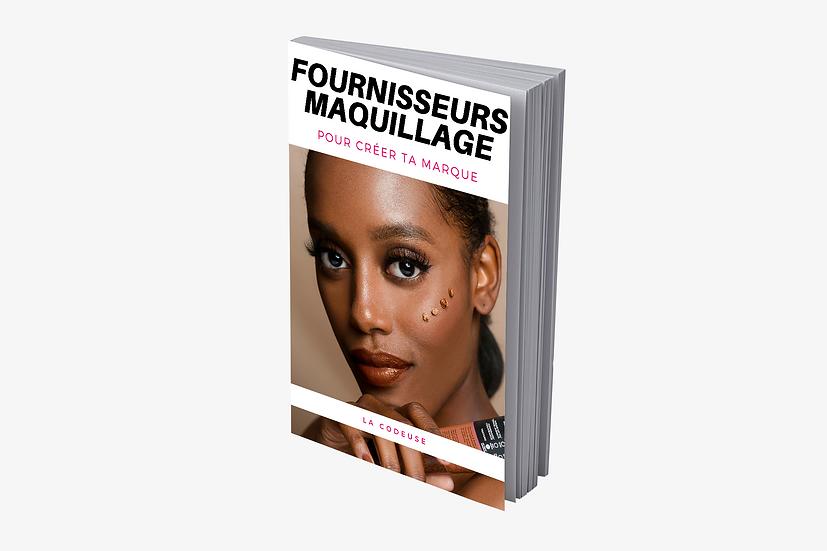 Fournisseurs Maquillage