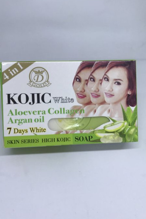 KOJIC ALOEVEA COLLAGENE HUILE ARGAN