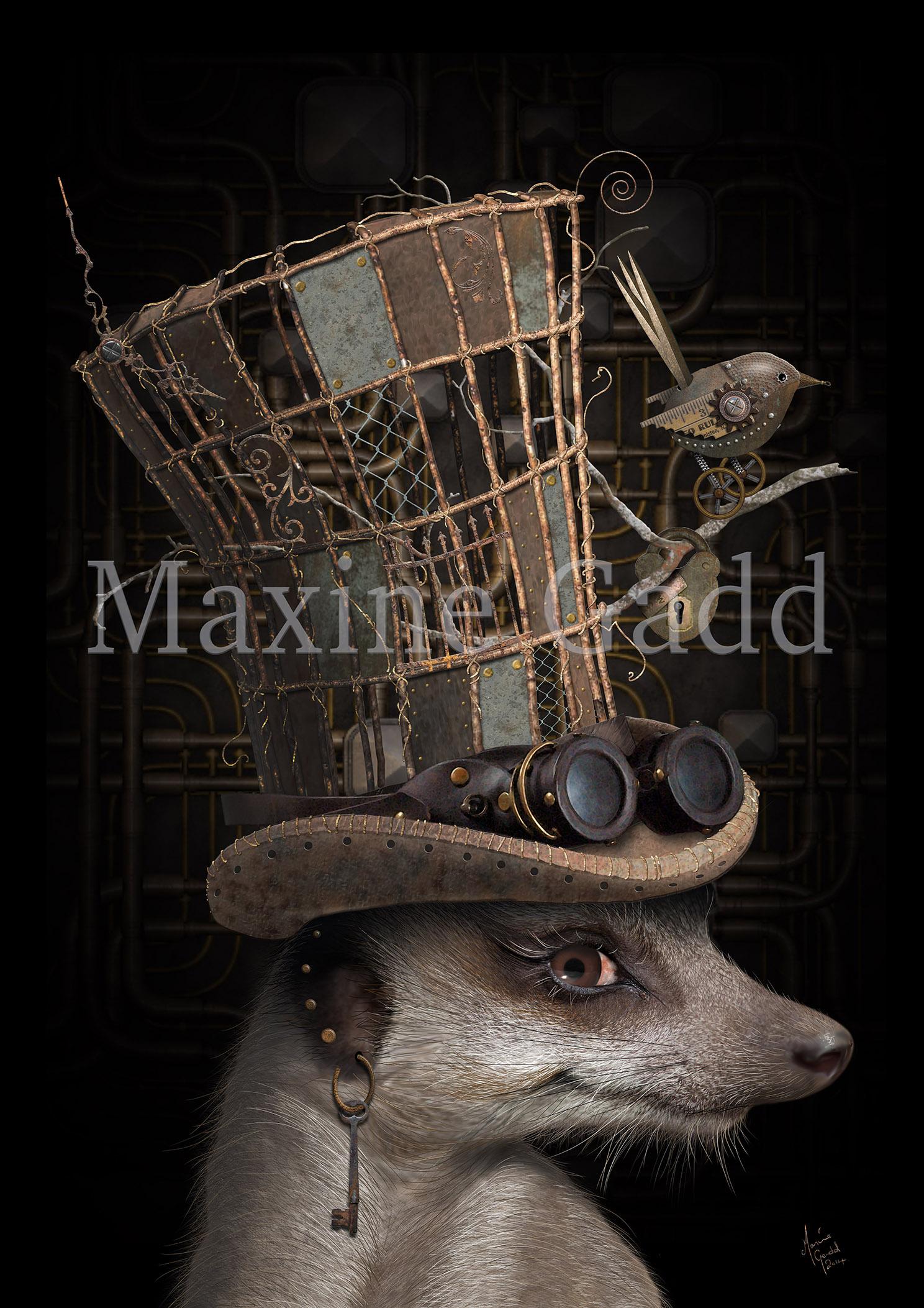 Steampunk Meerkat