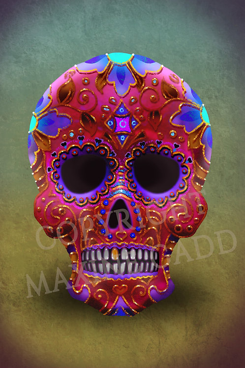 Mexican Dotd Candy Skull