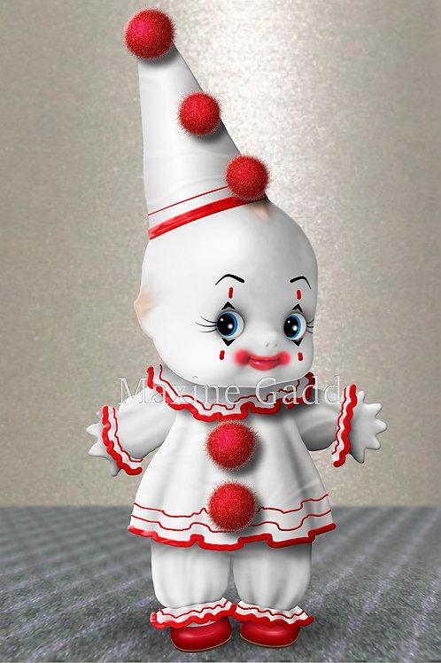 Knicknac Cupie Clown