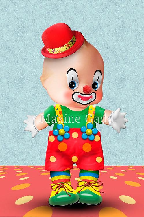 Buttons Cupie Clown