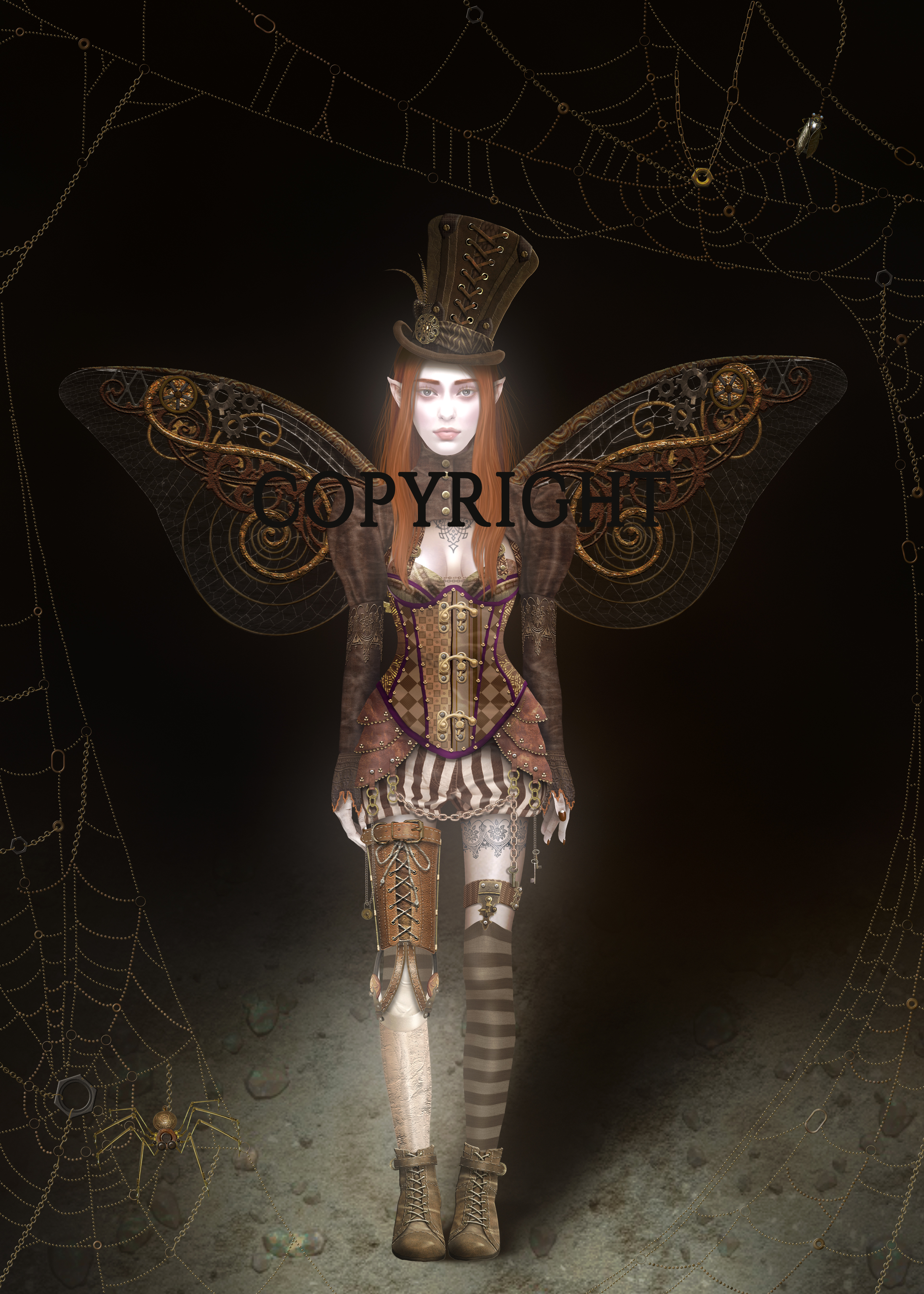 Steampunk fairy cr