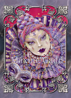 Purple Pierrette