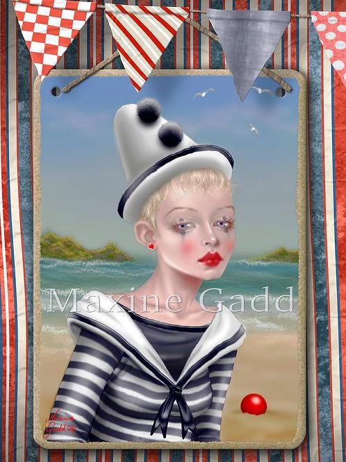 Seaside Clown