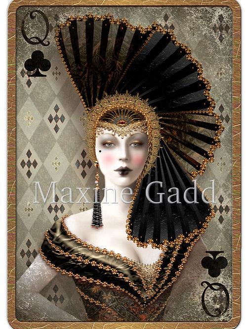 Queen of Clubs (B)