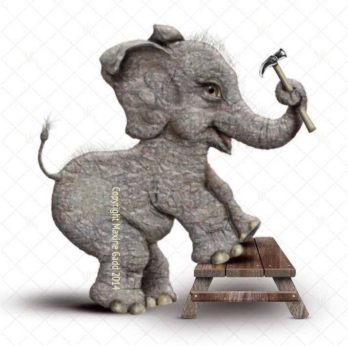 Handy-Elephant