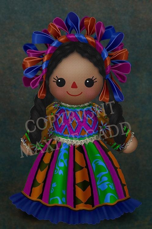 Maria Doll Mexican