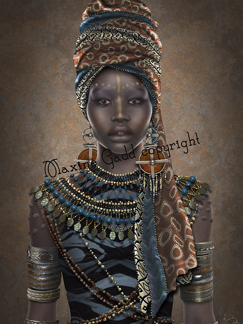 NOXOLO African Woman - full size