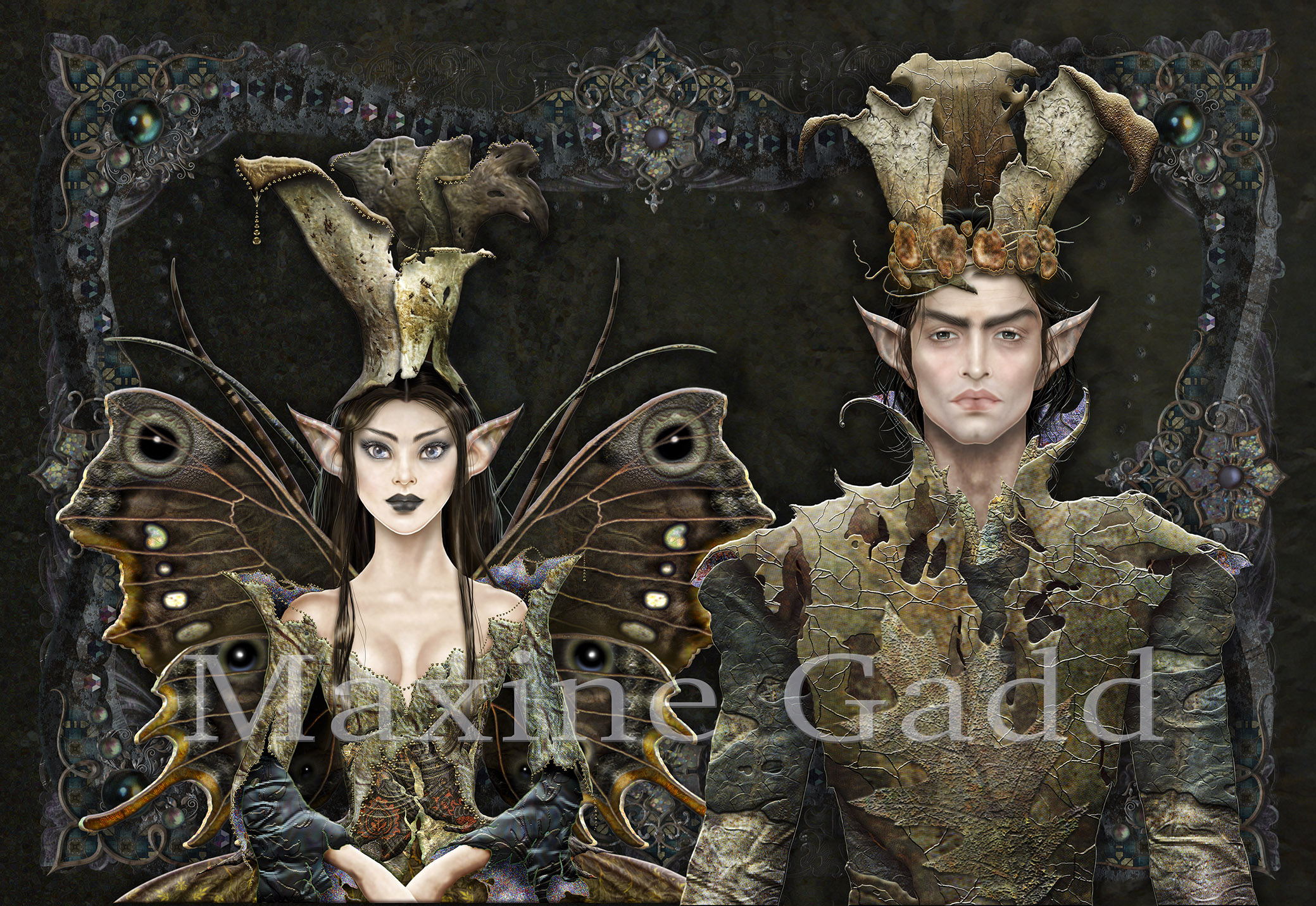 King and Queen of the Darkwood Elves