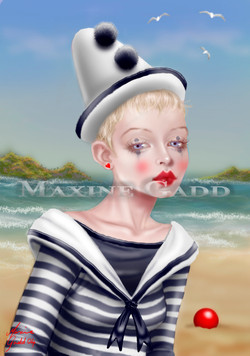 Seaside clown wm