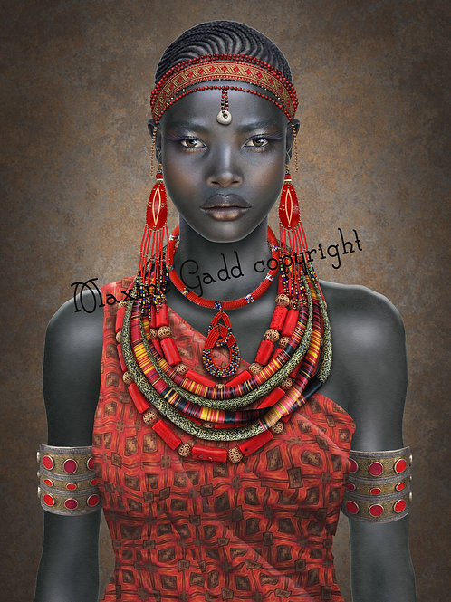 ZAMA African Woman full size