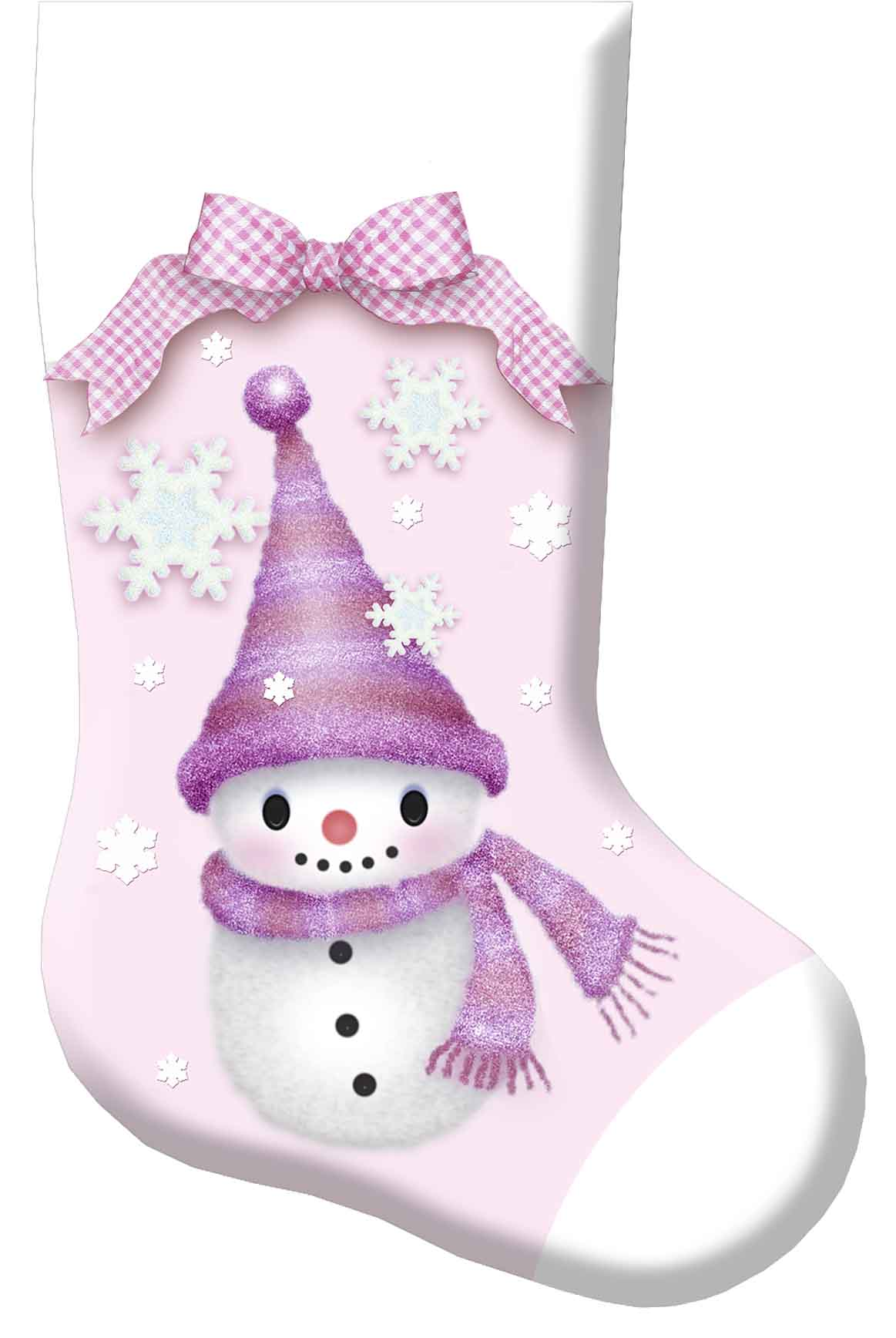 Christmas Stocking Cupie Doll
