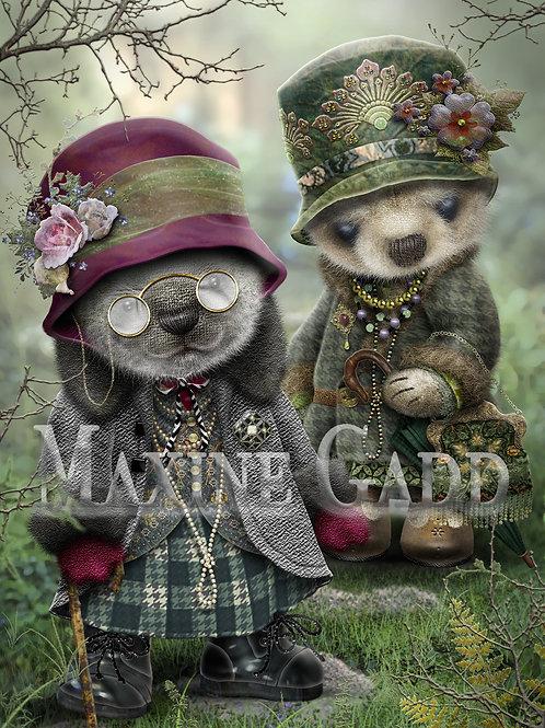Great Aunts Harriet and Myrtle