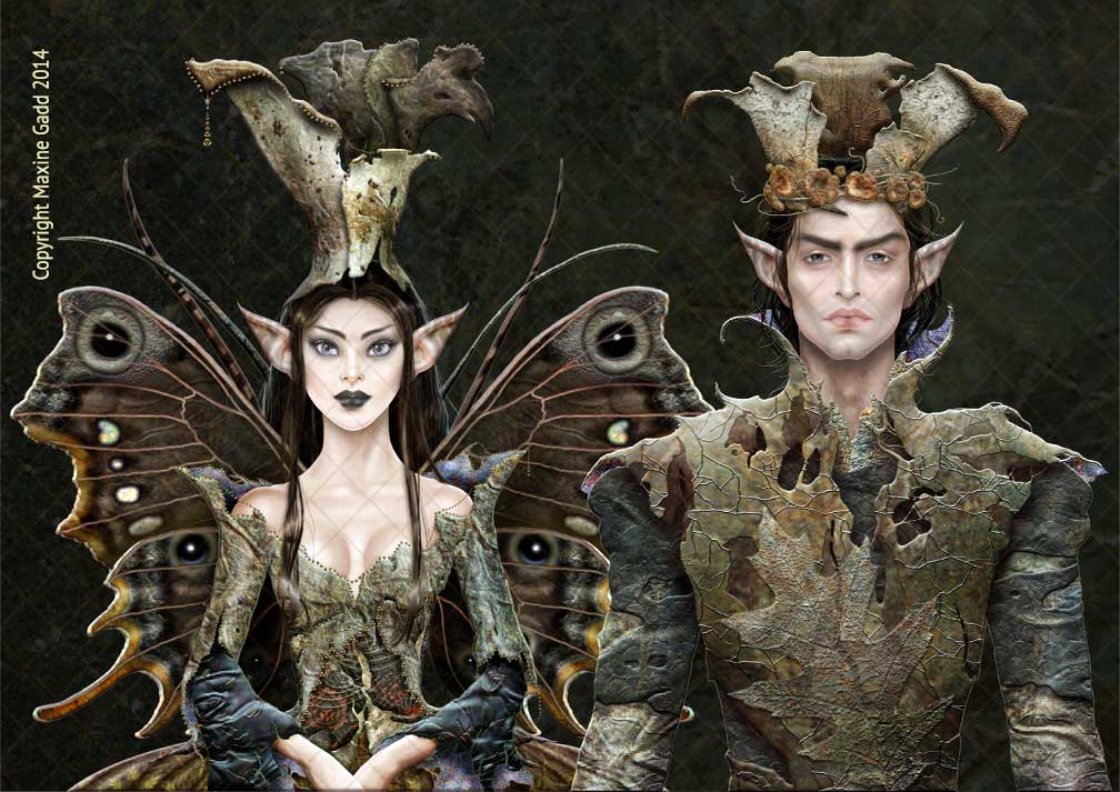 The-King-and-Queen-Darkwood-Elves