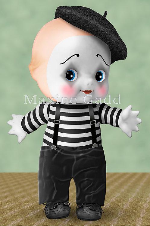 Marcel Cupie Clown