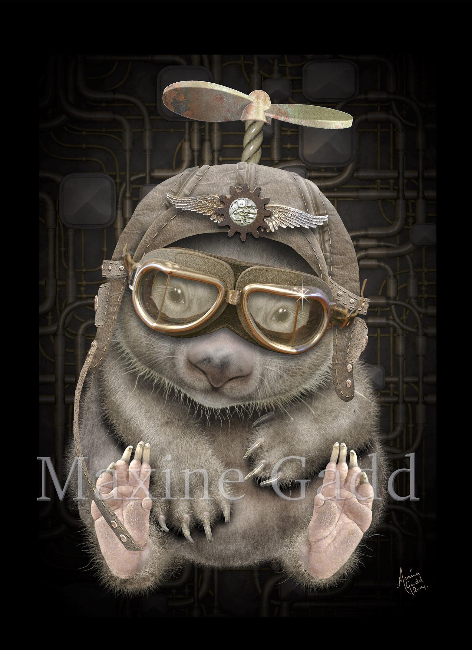 Steampunk Wombat