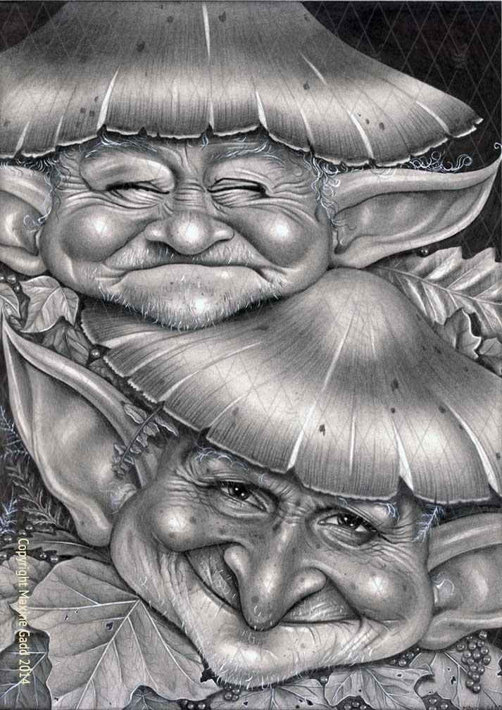 Mushroom-Pixies