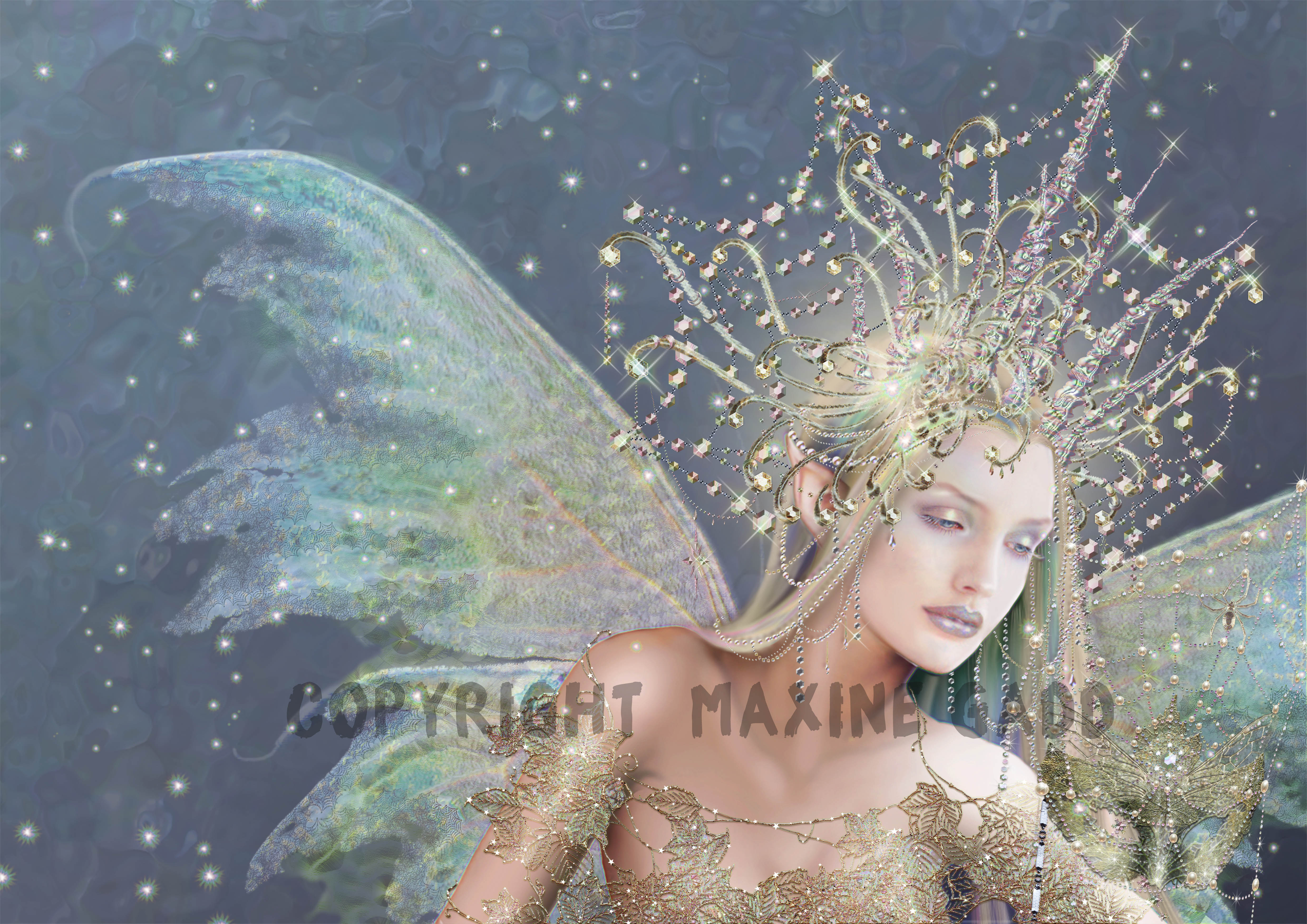 Ice crystal masque copyright