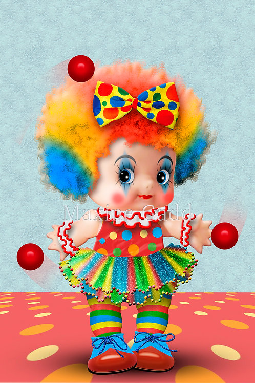 Molly Cupie Clown