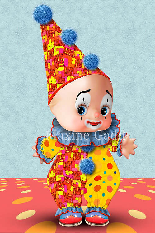Ruffles Cupie Clown