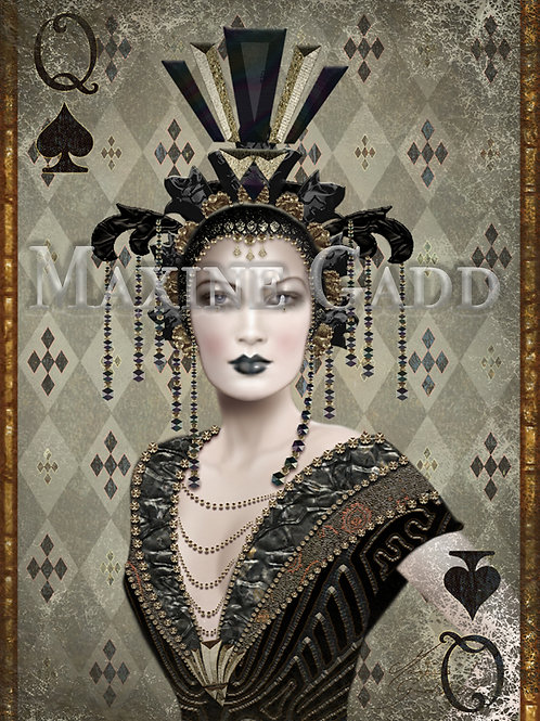 The Queen of  Spades B