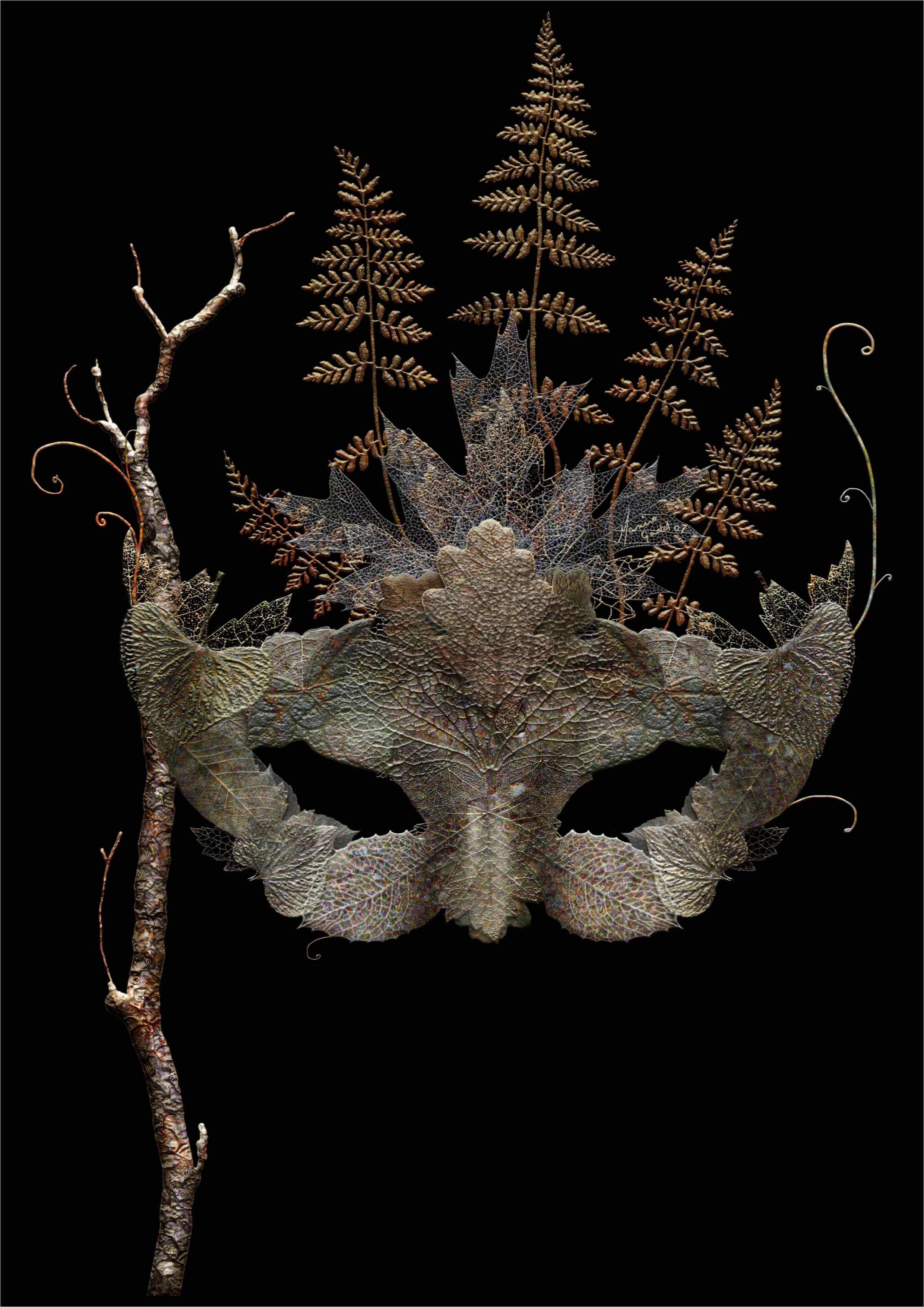 Dried Leaf Mask