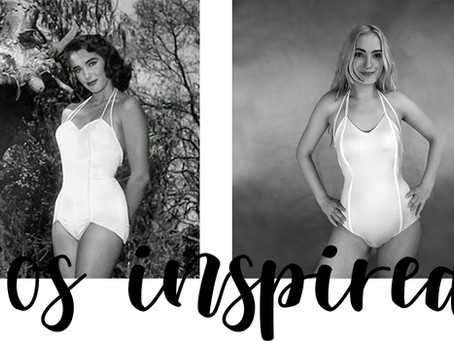 How to make 50's inspired swimsuit with boning