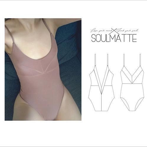 Bodysuit pattern, leotard pattern, woman, girl bodice pattern
