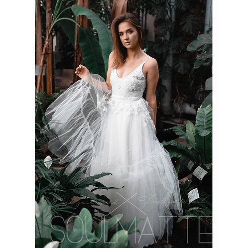 "Bride dress ""Dove"", Bridal separates, bridal gown, wedding separates,"