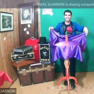 Il nostro mago Manuel