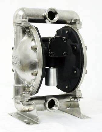 D0306 1inch Air Operated Double Diaphragm Pump, SUS