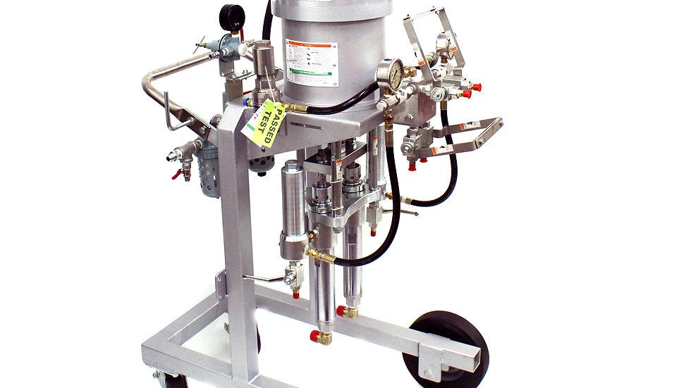 PF70 FLASH 7in, Ratio 25:1, Mix Ratio 1:1 Plural Component Pump