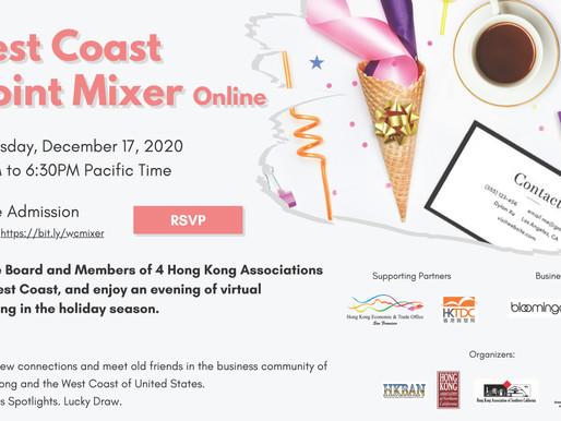 Event Recap | Dec 17 | West Coast Joint Mixer