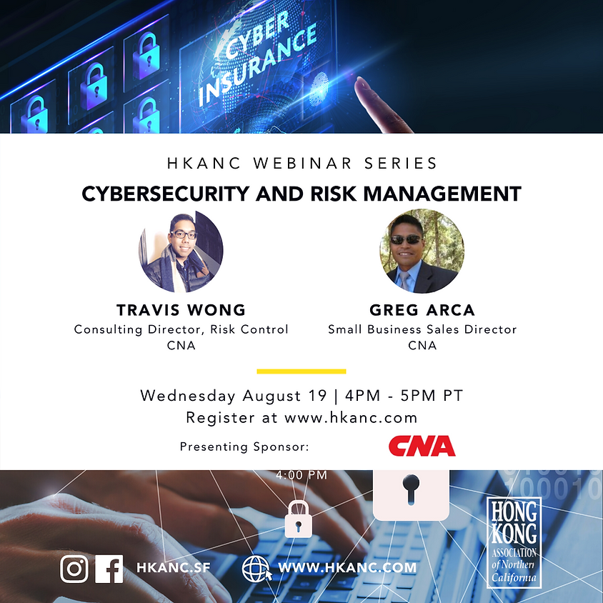 HKANC Webinar   Cybersecurity and Risk Management